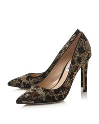 Steve Madden - Metallic Pizazz Jewel Embellished Court Shoes - Lyst