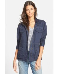 Hinge | Blue Fatigue Jacket | Lyst