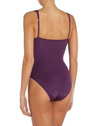 Biba - Purple Goddess Tummy Control Swimsuit - Lyst