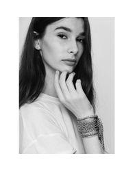 Jenny Bird | Metallic Chain Fringe Cuff | Lyst