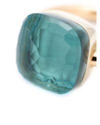 Pomellato | Metallic Blue Topaz Ring | Lyst