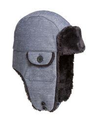 85847ebe53e7e6 The North Face 'heli Hoser' Trapper Hat in Blue for Men - Lyst