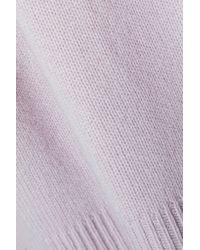 Burberry - Purple Cashmere Sweater - Lyst
