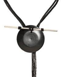 Tom Rebl | Black Porcelain Disk Shaman Necklace for Men | Lyst