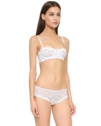Free People - Love Letters Convertible Balconnete Bra - White - Lyst