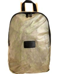 Marc By Marc Jacobs - Metallic Rubber Print Mesh Packables Backpack for Men - Lyst