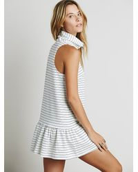 Free People - Gray The Fifth Womens River City Dress - Lyst