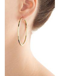 Jennifer Fisher | Kreolen 14kt Yellow Gold Plated Earrings | Lyst