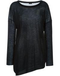 JOSEPH - Black Turtle Neck Sweater - Lyst