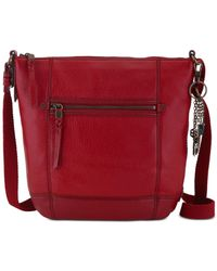 The Sak   Red Sequoia Leather Crossbody   Lyst