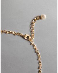 "Dolce & Gabbana - Metallic ""sacred Heart"" Necklace - Lyst"