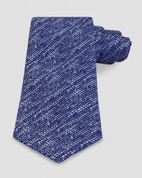 Thomas Pink - Blue Totnes Texture Classic Tie for Men - Lyst