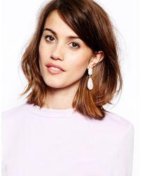 ALDO | Pink Montraie Two Drop Earring | Lyst