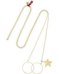 Inez & Vinoodh - Metallic 18-Karat Gold Necklace - Lyst