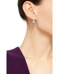 Venyx - Metallic 18k White Gold Venus Earrings - Lyst
