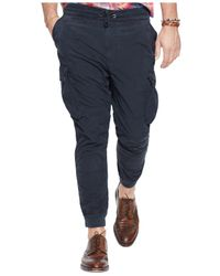 Polo Ralph Lauren | Black Big And Tall Classic-fit Utility Pant for Men | Lyst