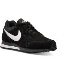 Nike | Black Men's Md Runner 2 Casual Sneakers From Finish Line for Men | Lyst