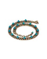 Lionette | Blue Nico Bracelet | Lyst