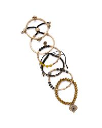 Samantha Wills | Metallic Midnight Rendezvous Bracelet Set - Shiny Gold | Lyst