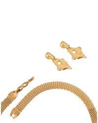 Nina Ricci - Metallic Jewellery Set - Lyst