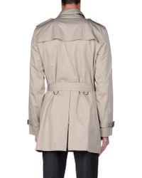 Burberry Brit | Natural Full-length Jacket for Men | Lyst