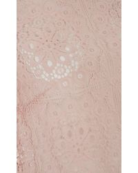 Temperley London | Pink Nomi Lace Crop Top | Lyst