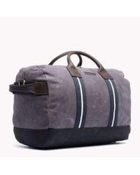 Tommy Hilfiger | Gray Wilshire Duffle Bag for Men | Lyst