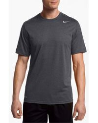 Nike | Gray 'legends' Dri-fit T-shirt for Men | Lyst