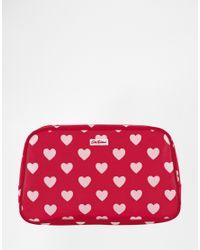 Cath Kidston | Red Pvc Box Toiletry Bag | Lyst