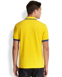 Fred Perry - Yellow Brazil World Cup Polo for Men - Lyst