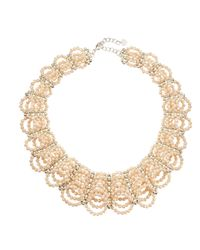 Nakamol - Natural Scalloped Crystal Collar Necklace - Lyst
