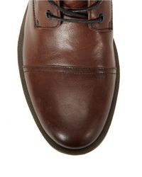 Calvin Klein | Brown Roberts Leather Lace-up Boots for Men | Lyst