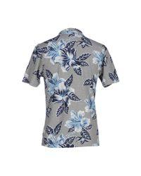 Hydrogen - Blue Polo Shirt for Men - Lyst