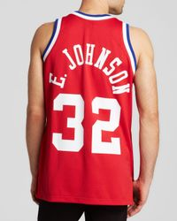 """Mitchell & Ness - Red 1990 All-Star West Earvin """"Magic"""" Johnson Jersey for Men - Lyst"""