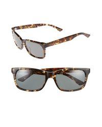 Raen - Brown 'weston' 58mm Sunglasses - Brindle Tortoise/ Green for Men - Lyst