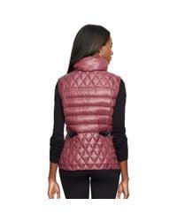 Ralph Lauren | Purple Packable Down Vest | Lyst