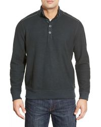 Tommy Bahama | Gray 'new Scrimshaw' Pullover for Men | Lyst