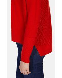 Karen Millen | Red Ltd Edition Cashmere Roll-neck Jumper | Lyst