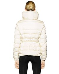 Moncler | White Sanglier Nylon Down Jacket | Lyst