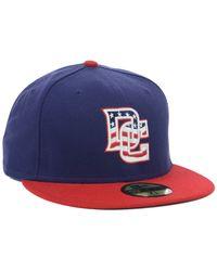 KTZ - Blue Washington Nationals Authentic Collection 59fifty Cap for Men - Lyst