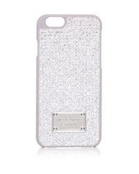 MICHAEL Michael Kors | Metallic Pave Iphone 6 Case | Lyst