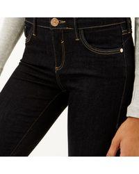 River Island - Little Blue Amelie Superskinny Jeans - Lyst