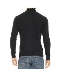 Emporio Armani | Blue Sweater for Men | Lyst