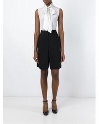 Cacharel - Black Knee-length Shorts - Lyst