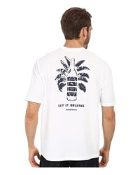 Tommy Bahama | White Let It Breath Tee for Men | Lyst