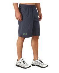 "Under Armour - Gray Heatgear® Reflex Short 10"" for Men - Lyst"