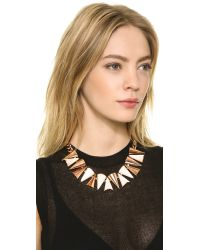 Sarah Magid - Metallic Cone Necklace, Mother Of Pearl - Lyst