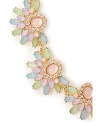 Forever 21   Metallic Opulent Pastel Necklace   Lyst