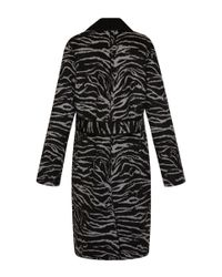 Fausto Puglisi - Black Wrap Coat - Lyst