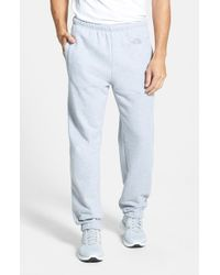 The North Face | Gray 'logo' Sweatpants for Men | Lyst